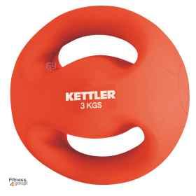 Piłka do ćwiczeń 3 kg z uchwytami Kettler 07370-044