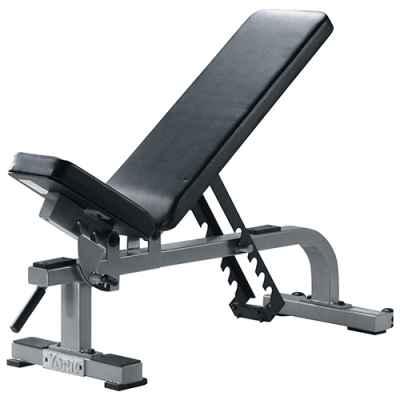 Ławka Flat To Incline Bench Silver York Fitness - 55027