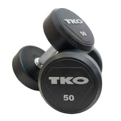 Hantle ogumowane 10 kg TKO (Para)