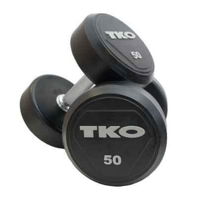 Hantle ogumowane 38 kg TKO (Para)