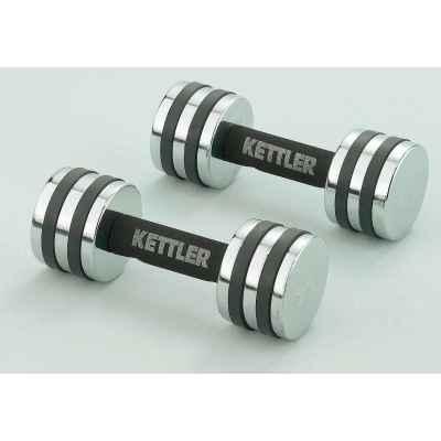 Hantelki chromowane 2*4 kg Kettler 7446-450