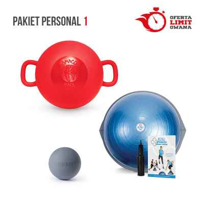 PAKIET PERSONAL 1 (BOSU PRO + KAMAGON BALL + TIGUAR TRIGGER BALL)