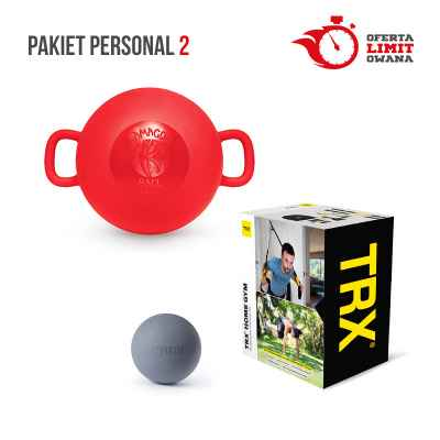 PAKIET PERSONAL 2 (TRX HOME + KAMAGON BALL + TIGUAR TRIGGER BALL)