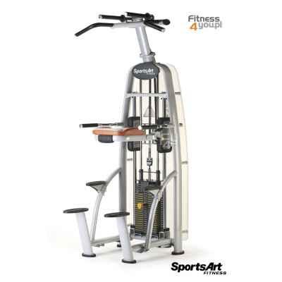 Maszyna na grzbiet/triceps - podciąganie ze wspomaganiem / Assisted Chin Dip SportsArt A911