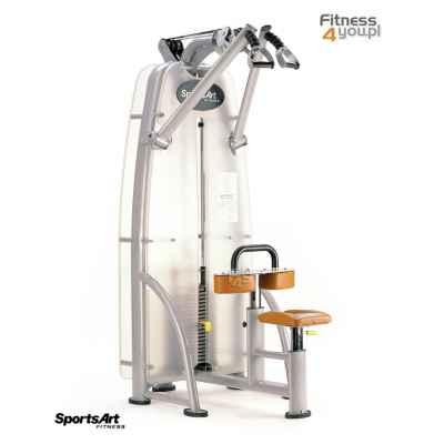 Maszyna na grzbiet - wyciąg z góry, niezależna praca ramion / Independent Lat Pull Down SportsArt A916