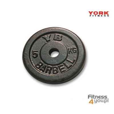 Talerz 5 kg York - żeliwny-niedostępny