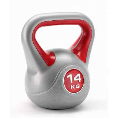 Kettlebell winylowy 14 kg York Fitness