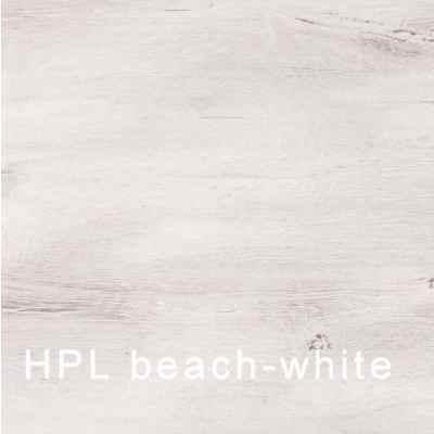 HPL blat do stołu 160x95 cm Kettler  0104221-2400 - beach-white
