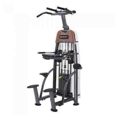 Maszyna na grzbiet/triceps - podciąganie ze wspomaganiem / Assisted Chin Dip N911 SportsArt