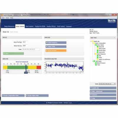 GMON FIT1000 Oprogramowanie do Wagi / Monitora Składu Ciała Tanita BC-1000