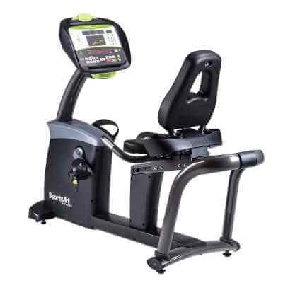 ROWER POZIOMY G575R LED SPORTS ART